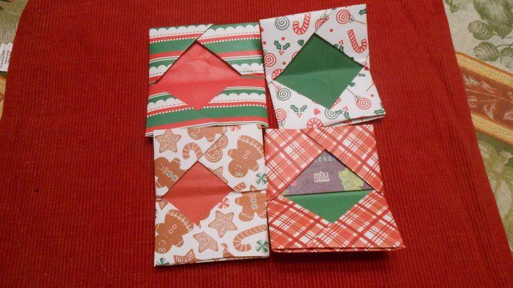 Säsongsbetonade gåvokort kan vara ett bra koncept
